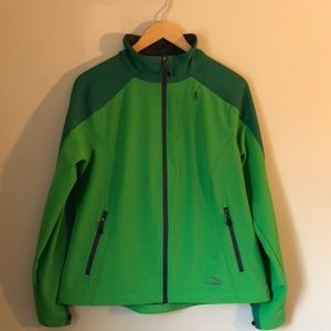 LL bean hard shell coat